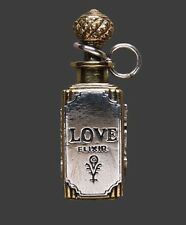 Waxing Poetic REMEDY IN A BOTTLE Pendant LOVE ELIXIR ***RARE***