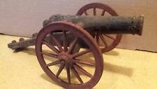 ANTIQUE toy cast iron cannon