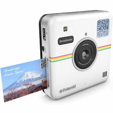 Polaroid Socialmatic 14MP Wi-Fi Digital Instant Print & Share Camera (White)
