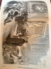 J1-8 Ephemera 1863 Picture Folded Freedom Of The Fishmongers Co To Prince Wales