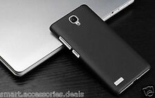 Black Matte Hard Back Case Cover For Xiaomi Redmi Note 2/ Note Prime