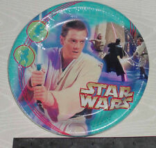 "STAR WARS EPISODE 1 PACK OF 8 PAPER PLATES 6.75"" DIAMETER 17.1 cm"