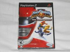NEW Power Rangers Super Legends 15th Anniversary Playstation 2 Game PS2 ledgends