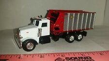 1/64 CUSTOM PETERBILT TRUCK WITH MTD H&S FORAGE CHOPPER WAGON ERTL FARM TOY nice