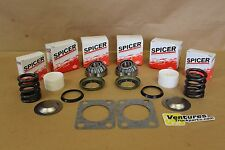 KINGPIN BEARING SEAL REBUILD KIT BUSHING AND SPRING CHEVY DANA 60 DANA SPICER