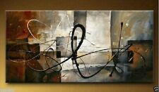 Large Modern Abstract Art Oil Painting Wall Deco canvas no frame