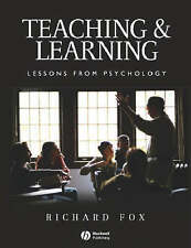 Teaching and Learning: Lessons from Psychology-ExLibrary
