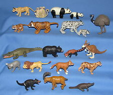 ASSORTED PLASTIC ANIMALS K&M INTL--MADE IN CHINA