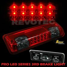 04-08 Ford F150 07-10 Sport Trac LED High Mount 3rd Third Brake Light Red Smoke