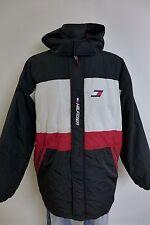 NV550 Men Tommy Hilfiger Vintage Hooded Waterproof Jacket Size XL