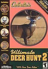 Video Game PC Cabelas Ultimate Deer Hunt 2 Two 2002 NEW SEALED BOX