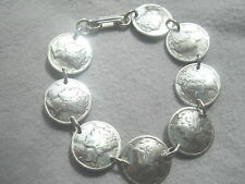 Coin Jewelry~Mercury dime bracelet~nicely domed-side to side