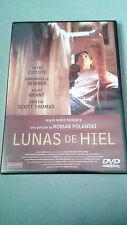 "DVD ""LUNAS DE HIEL"" PRECINTADA ROMAN POLANSKI EMMANUELLE SEIGNER HUGH GRANT"