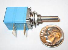 """Clarostat  audio potentiometer  dual  50K OHM audio taper  1/2"""" SQ.  1 pcs  NOS"""