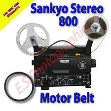 Sankyo 800 Sonido Estéreo 8mm motor principal de cine Proyector Belt (cinturón)