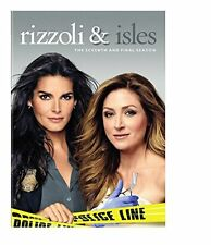 Rizzoli & Isles: The Complete Seventh and Final Season 7 DVD Brand New