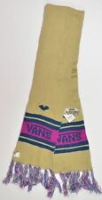 Vans FRESHIES Womens 100% Acrylic Neck Scarf One Size Sand NEW