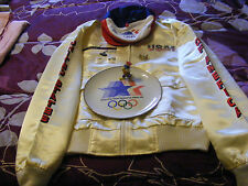 1984 Summer Olympics White Jacket and Souvenirs