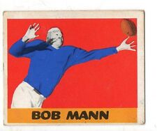 1948 Leaf Football Card #44 Bob Mann-Detroit Lions