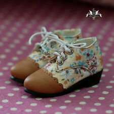 1/4 BJD Shoes MSD Supper Dollfie DREAM Flower Shoes AOD DOD Luts DZ MID Dollmore