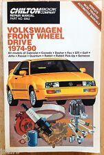 1974 - 1990 VOLKSWAGEN CABRIOLET CORRADO JETTA QUANTUM GTI TRUCK REPAIR MANUAL
