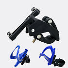 Bicycle Bike Cycling Water Bottle Cage Holder Clip Clamp Seat Post Bracket Mount