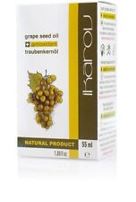 IKAROV PURE NATURAL GRAPE SEED OIL - Hair Stimulation, Body Massage, Wellbeing