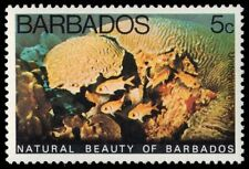 """BARBADOS 455 (SG577) - Natural Beauty """"Underwater Park"""" (pf33521)"""