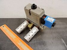 "Automatic Valve One-Way Pneumatic Valve 3/8"" Ports 24/48 vdc Control Valve Air"
