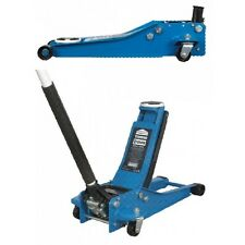 TROLLEY JACK 2 tonnellate a bassa voce TWIN PISTONE ROCKET LIFT-BLU-Heavy Duty