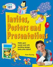 "Learn ICT: Invites, Posters and Presentations (QED Learn Art) Anne Rooney ""AS NE"