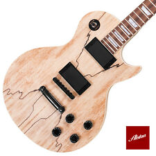 DIY Project Guitar Kit LP Style Solid Mahogany Body Bolt On Neck A056
