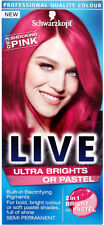 Schwarzkopf Live Color XXL Ultra Brights Semi-Permanent Colour 93 Shocking Pink