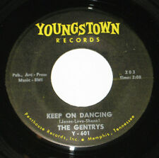 "The Gentrys 7"" 45 HEAR GARAGE Keep On Dancing ORIGINAL 1st PRESS YOUNGSTOWN #203"