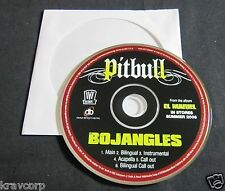 PITBULL 'BOJANGLES' 2006 ADVANCE CD SINGLE