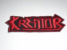 KREATOR THRASH METAL IRON ON EMBROIDERED PATCH