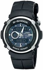 Casio G-Shock G300-3A 200M Analog Digital Sporty Green Dial Watch G-300
