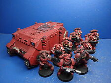 Rhino + 10 taktische Marines der Blood Angels
