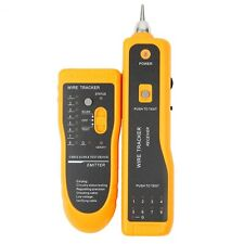 RJ45 RJ11 Telephone Phone Wire Tracker Tracer Ethernet LAN Network Cable Tester