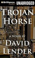 TROJAN HORSE unabridged audio book on CD by DAVID LENDER