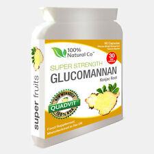 Glucomannan Konjac Root  - Super Strength - EU Authorised Weight Loss Product
