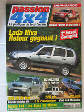 PASSION 4X4 N° 102 /LADA NIVA/LINCOLN AVIATOR/SANTANA PS10/CLUB 4X4 MERCEDES