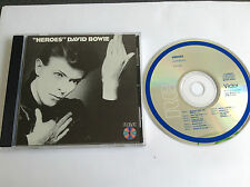 David Bowie Heroes RCA Victor  PCD1-2522 BLUE RING JAPAN PRESS CD RARE MINT