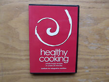 Healthy Cooking, Whole Foods Recipes in under 20 Minutes (DVD) With Recipe Book