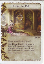 3 x Locked in a Cell AGoT LCG 1.0 Game of Thrones A Dire Message 109