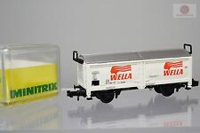 N 1:160 Minitrix 13268 Vagon mercancias DB Wella trenes escala