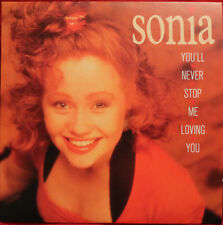 Sonia - You'll Never Stop Me From Loving You CD Single Stock Aitken Waterman PWL