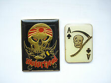 SALE LEMMY VINTAGE MOTORHEAD ACE OF SPADES HEAVY METAL MUSIC ROCK BAND PIN BADGE