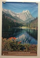 Original vintage travel poster Germany Deutschland Allemagne