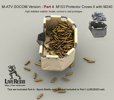 Live Resin 1/35 M-ATV SOCOM Ver. Upgrade Set Pt.4